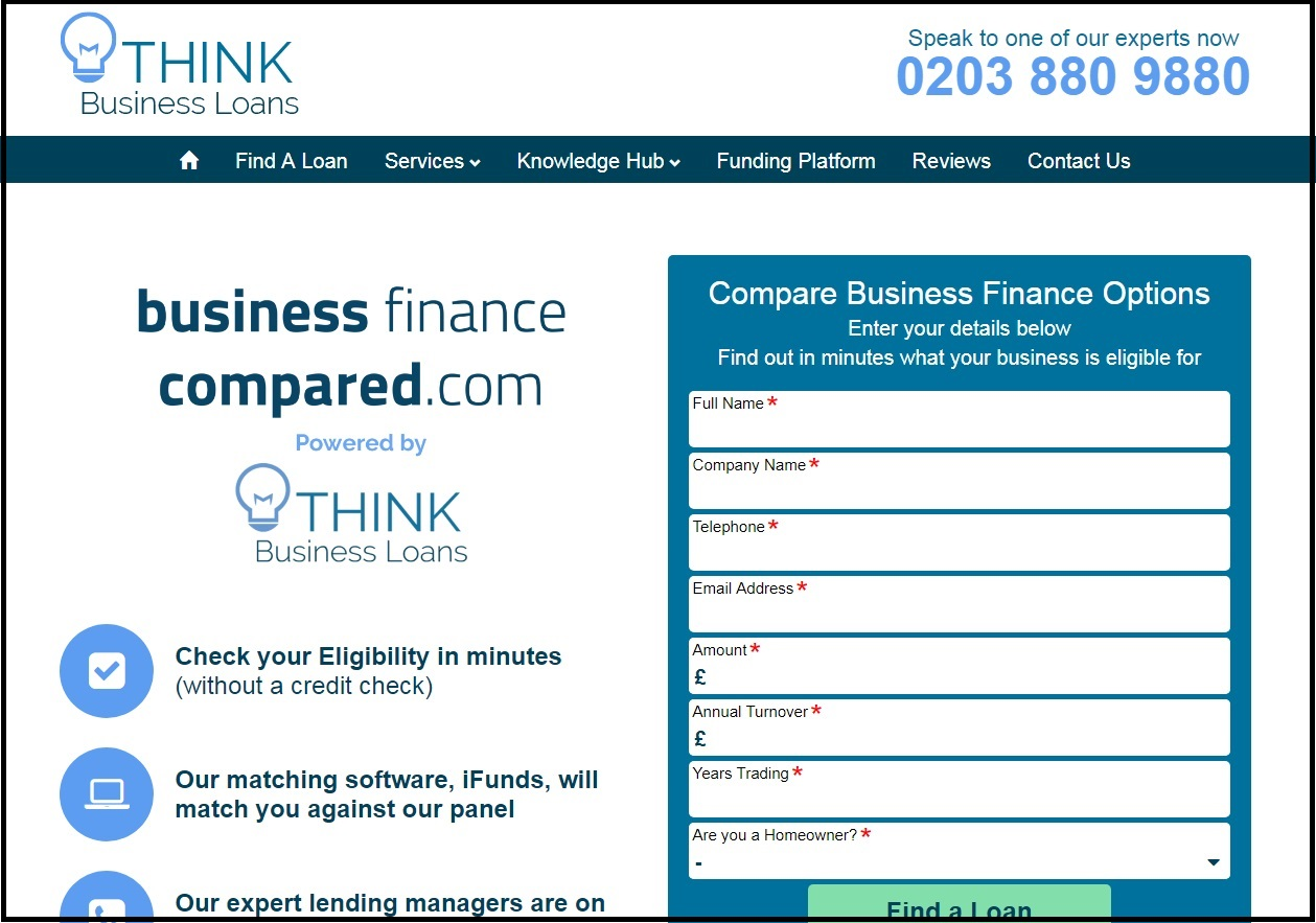 Business finance compared